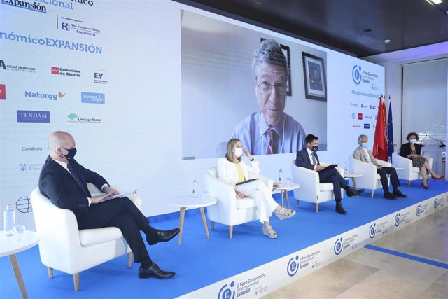 La vicepresidenta segunda del Congreso ha participado en la jornada dedicada a la pandemia mundial del Covid-19 dentro del II Foro Económico Internacional EXPANSIÓN