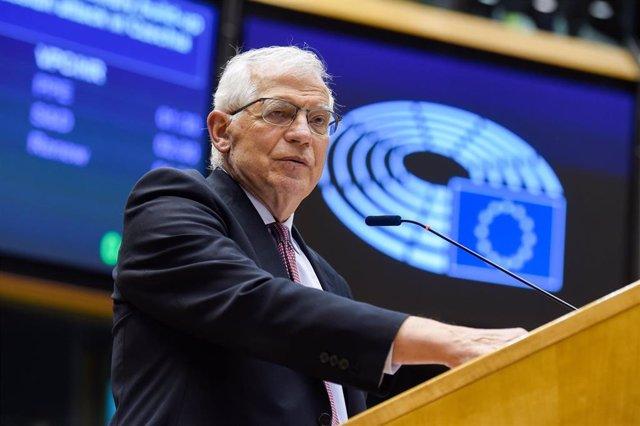 Archivo - El Alto Representante de la UE para Política Exterior y Seguridad Común, Josep Borrell.