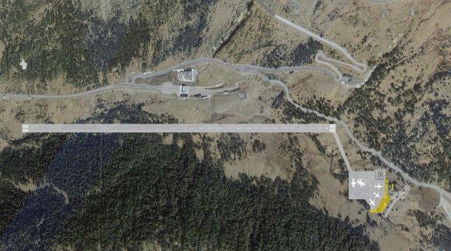 Archivo - Arxivo - La Cambra de comerç d'Andorra confirma la viabilitat tècnica de l'aeroport intern