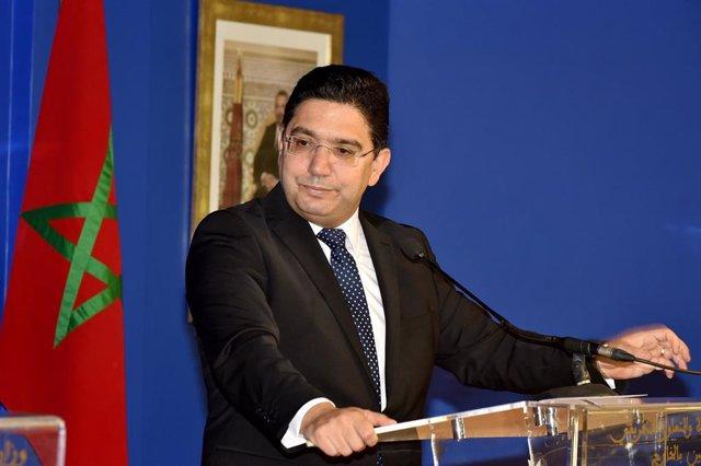 Archivo - Nasser Bourita, ministro de Exteriores de Marruecos