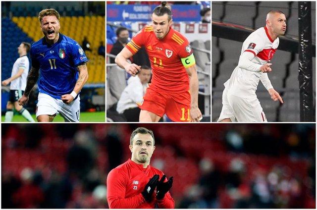 Immobile, Bale, Yilmaz y Shaqiri, referentes del grupo A