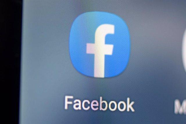 Archivo - App de Facebook