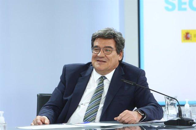 Arxiu - El ministre d'Inclusió, Seguretat Social i Migracions, José Luis Escrivá.