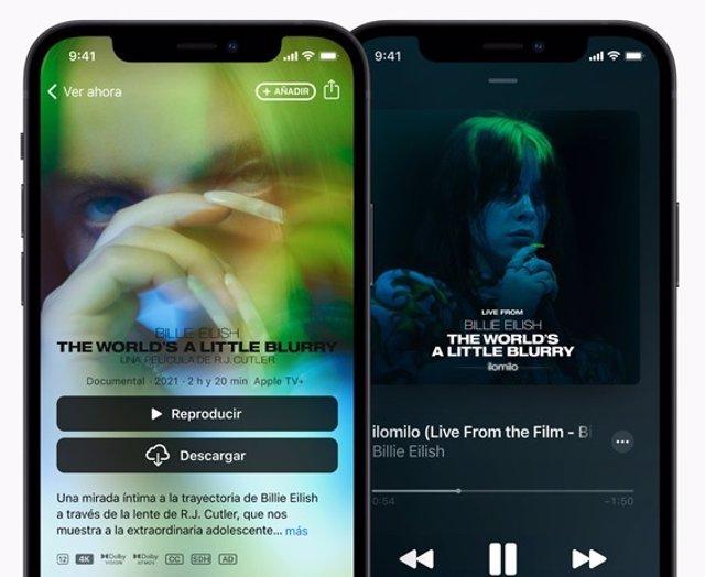 Archivo - Suscripción Apple Music en iPhone