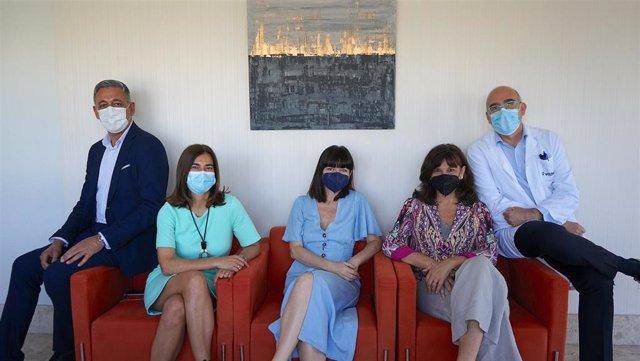 Presntación de la exposición de El Club de las Mujeres (In)visibles y la Fundación (H)ARTE en el Hospital Vithas Aravaca Madrid.