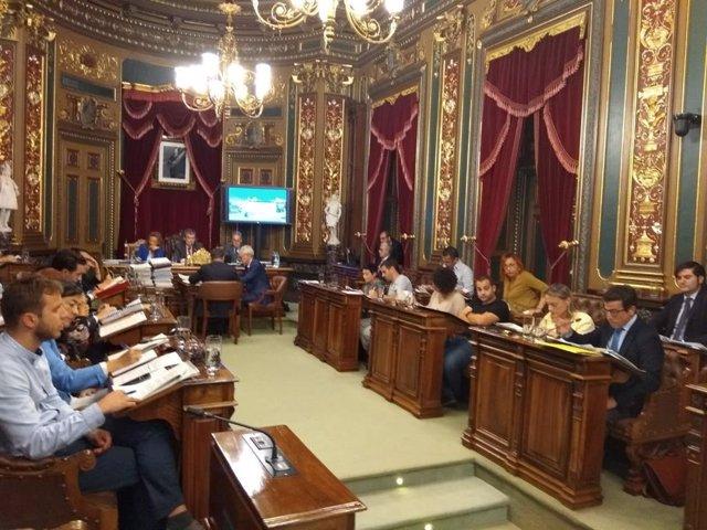 Archivo - Pleno del Ayuntamiento de Bilbao