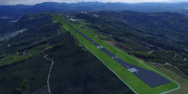 Archivo - Futuro Aeropuerto del Café, en Colombia