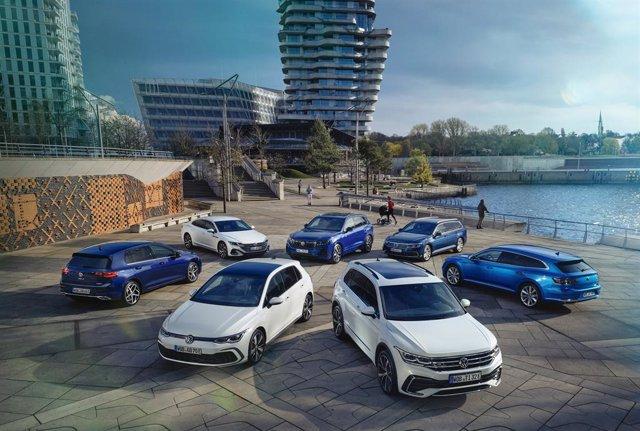 Gama híbrida enchufable de la marca Volkswagen.