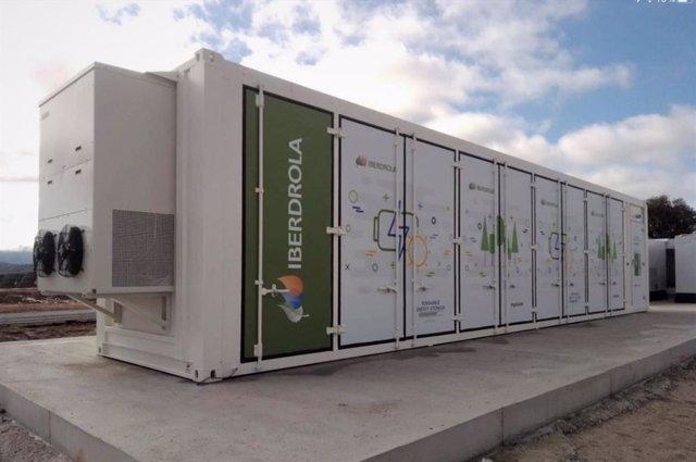 Batería de almacenamiento de Iberdrola