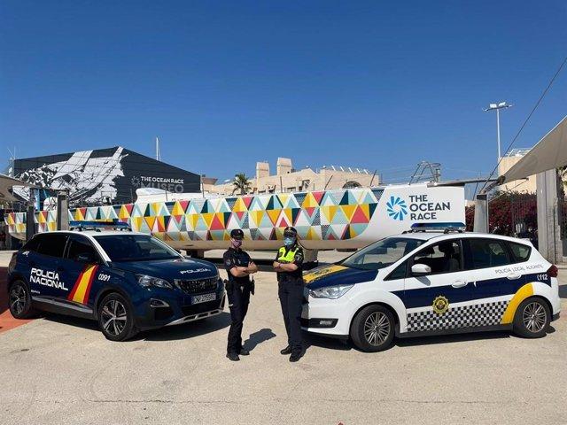 Policía Local y Nacional.