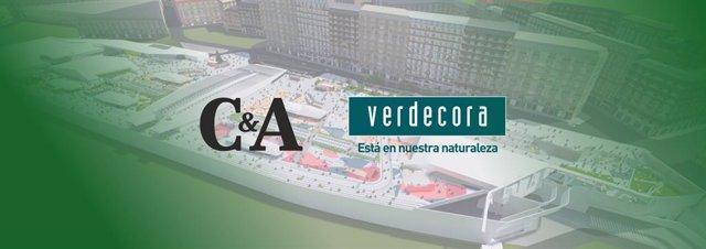 C&A y Verdecora en el C.C. Vialia Vigo.