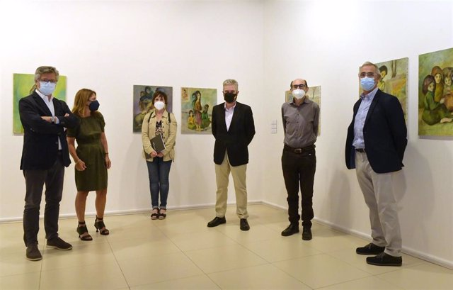 Inauguración de la exposición 'Luis Quintanilla en el MAS' en el Casyc.
