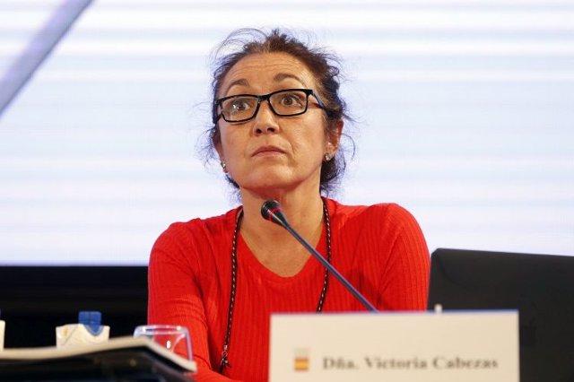 Victoria Cabezas, secretaria general del COE