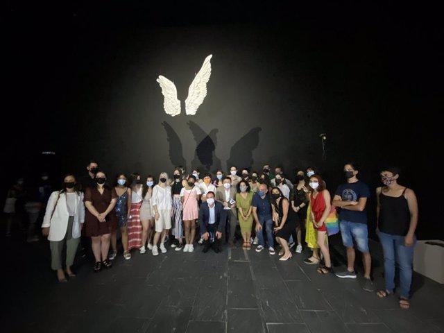 Inauguraicón de 'Alas de Toledo/Alas de México'