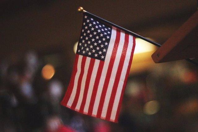 Archivo - Bandera de EEUU