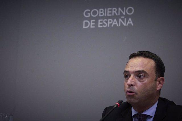 Arxiu - El secretari general de Salut Digital, Informació i Innovació del Ministeri de Sanitat, Alfredo González.