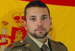 Sargento Rafael Gallart Martínez, fallecido durante un salto paracaidista al agua