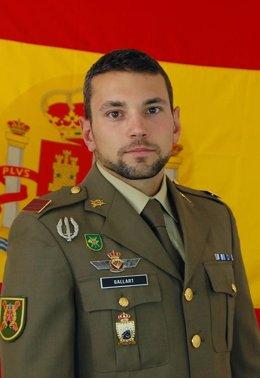 Sergent Rafael Gallart Martínez, mort durant un salt paracaigudista a l'aigua.