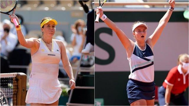 Anastasia Pavlyuchenkova y Barbora Krejcikova