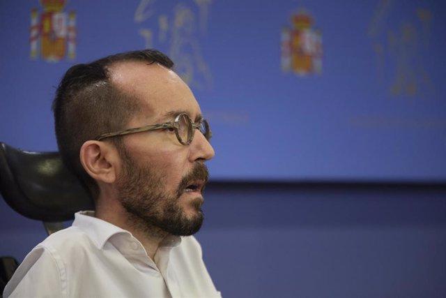 """Echenique afirma que es una """"obligación"""" la vía del diálogo para intentar resolver el conflicto catalán"""