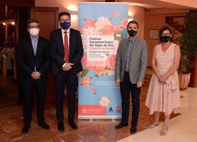 La nueva edición del Festival Iberoamericano del Silgo de Oro y Clásicos en Alcalá estrenó la obra de Pedro Calderón de la Barca