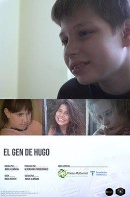 Cartel de 'El gen de Hugo'.