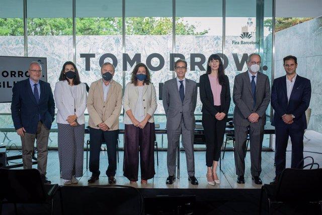 Foto de família de la presentació de Tomorrow.Mobility World Congress