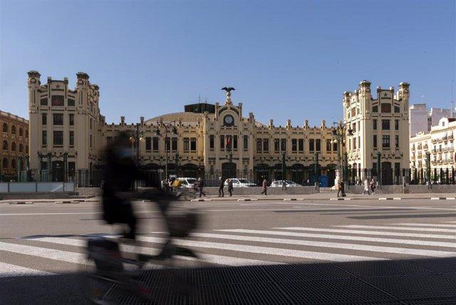 Archivo - La Estació del Nord de Valencia, a 16 de abril de 2021 en Comunidad Valenciana (España).