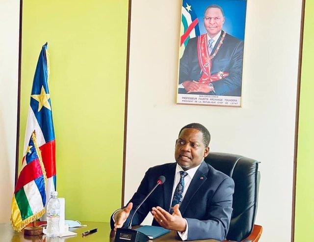 El primer ministro de República Centroafricana (RCA), Firmin Ngrebada