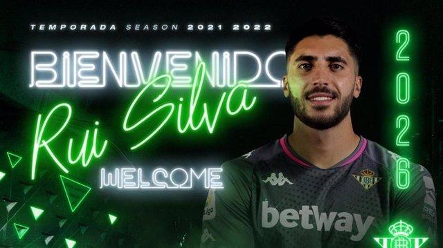 El portero portugués Rui Silva ficha por el Real Betis