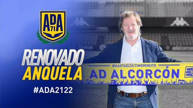 Juan Antonio Anquela renueva con el Alcorcón