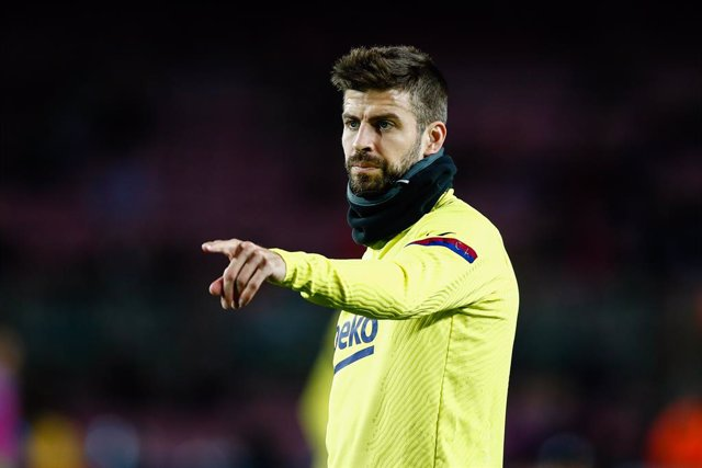 Archivo - 03 Gerard Pique from Spain of FC Barcelona during the Spanish Copa del Rey match between FC Barcelona and Leganes at Camp Nou on January 30, 2020 in Barcelona, Spain.