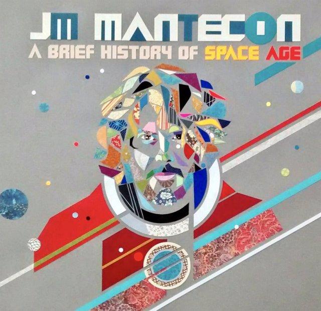 Portada del álbum 'A brief history of Space Age' de JM Mantecón