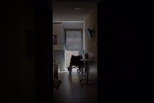 Archivo - Arxivo - Habitació d'un geriàtric durant la pandèmia