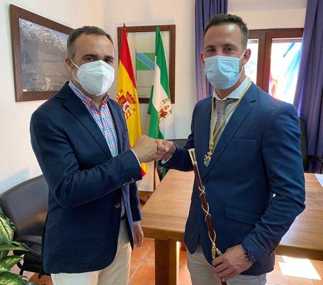 El exalcalde y nuevo alcalde de Trevélez.