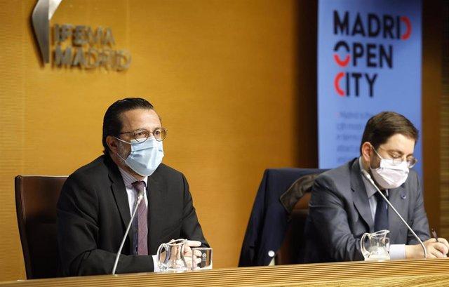 Archivo - Javier Fernández-Lasquetty, consejero de Hacienda y Función Pública de la Comunidad de Madrid
