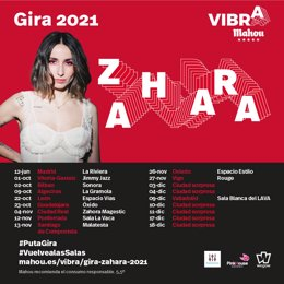 Arranca la gira de Zahara con tres conciertos en Madrid