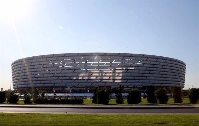 Archivo - Estadio Olímpico de Bakú