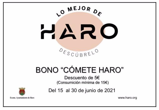 """Once establecimientos participan en la campaña """"Cómete Haro"""""""