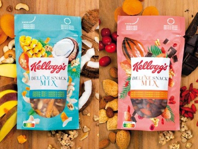 'Kellogg Deluxe Snack Mix'