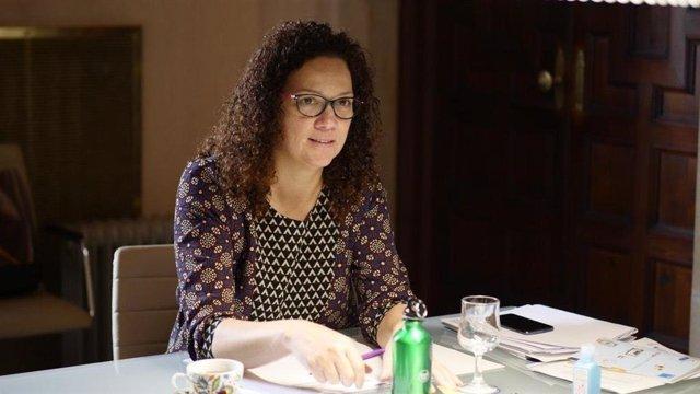 Archivo - La presidenta del Consell de Mallorca, Catalina Cladera