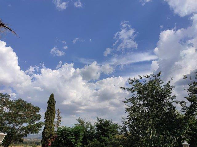 Nubes de evolución.