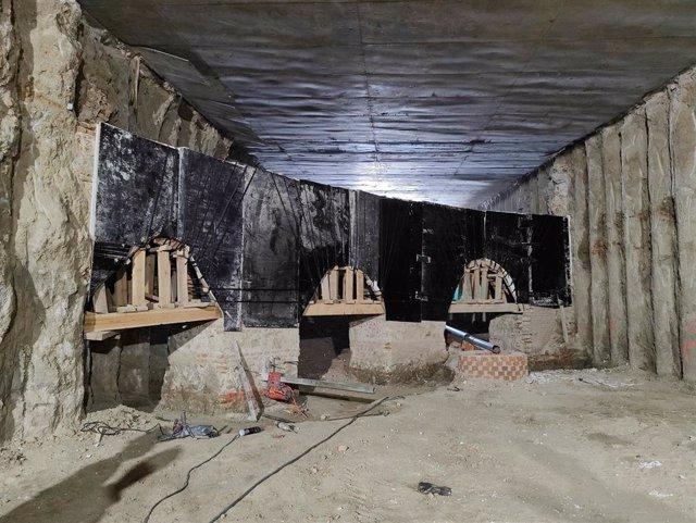 Los restos arqueológicos hallados en el entorno de la Plaza de España formarán parte de un nuevo itinerario cultural en Madrid