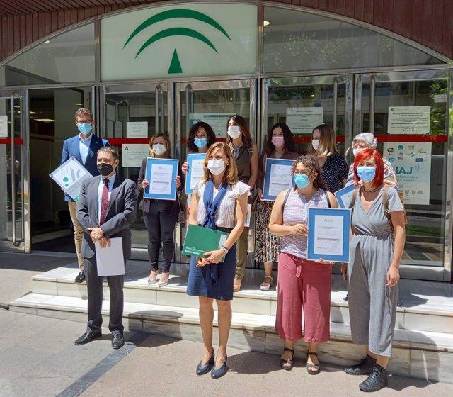 Jaén consolida la calidad de sus servicios sociales con la certificación de cinco residencias y servicios de día