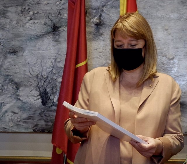 La consellera de Cultura, Natàlia Garriga.