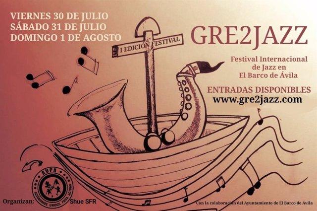 Logo del festival, diseño de David Mateos --cuyo abuelo creó el himno de El Barco de Ávila-- inspirado en el escudo del pueblo.