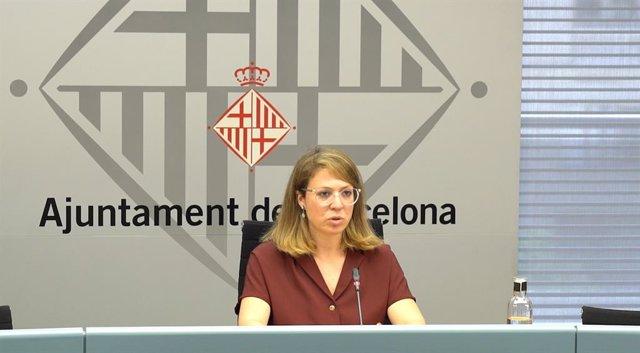 La tinent d'alcalde d'Ecologia, Urbanisme i Mobilitat de Barcelona, Janet Sanz