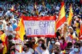 Multitudinaria manifestación en Colón contra los indultos y un Gobierno «excluyente, sectario y peligroso»