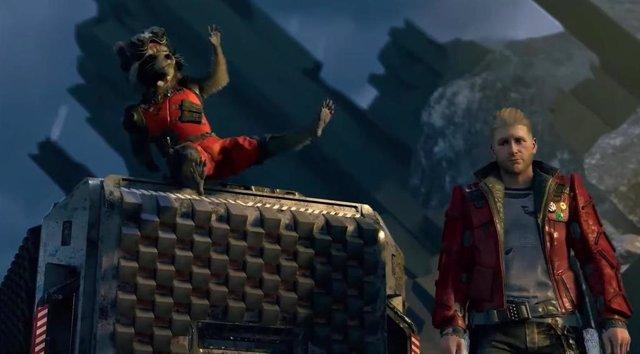 Imagen del videojuego Marvel's Guardians of the Galaxy