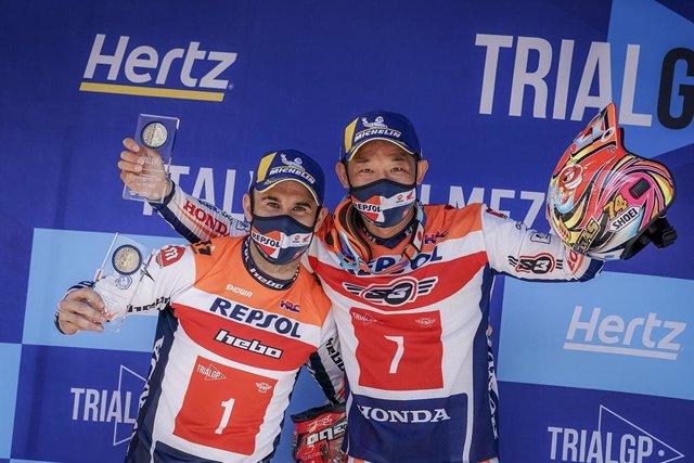 Toni Bou sale líder de Italia con doblete del Repsol Honda